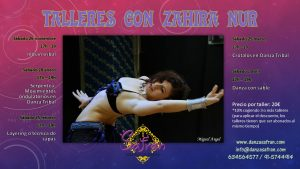 Talleres intensivos madrid danza tribal