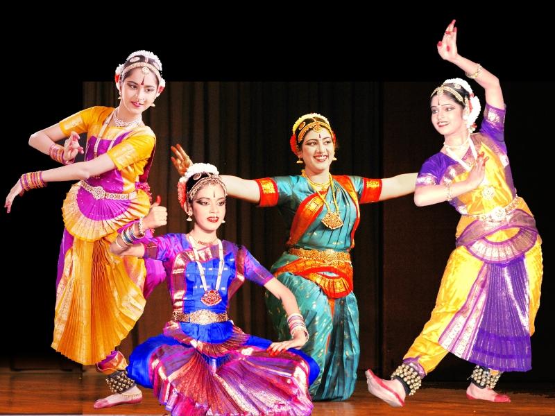 Danza India Bharatanatyam