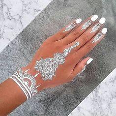 Tatuaje_henna_blanca