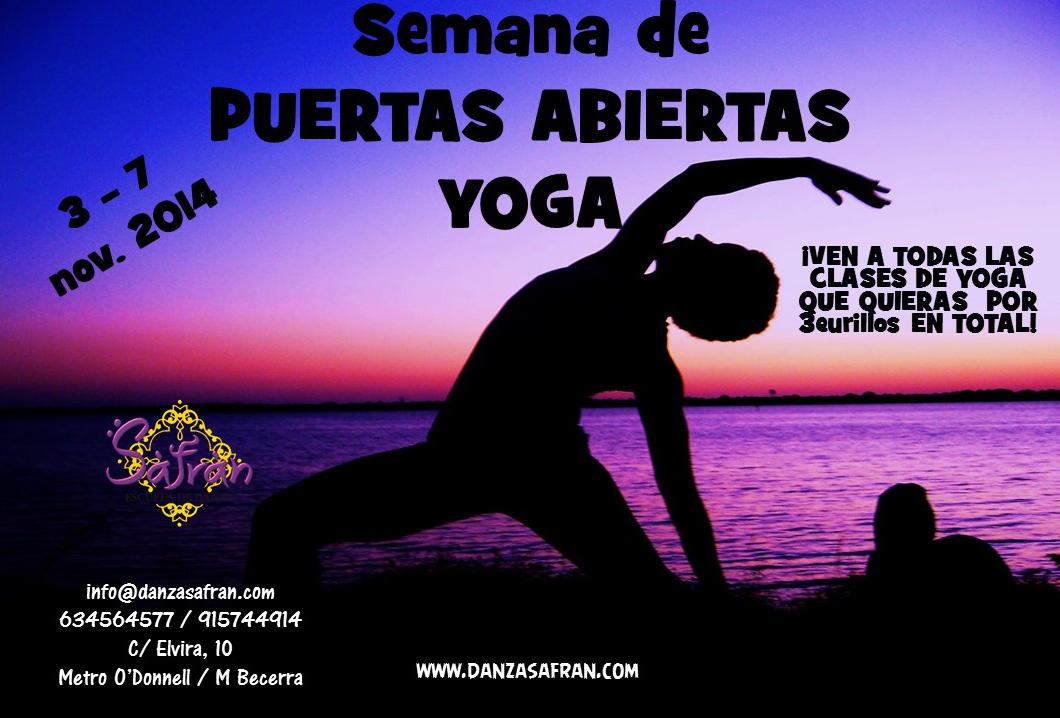 Semana de Puertas Abiertas de Yoga