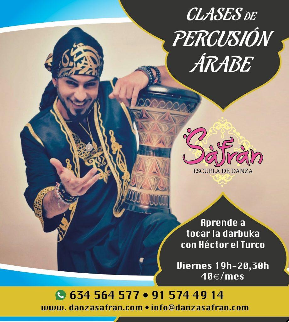 percusión madrid cómo tocar la darbuka árabe