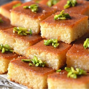 Basbousa_postres_árabes_recetas_2