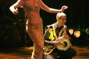 danza del vientre percusión