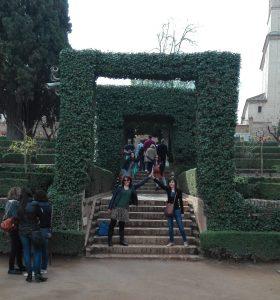 Loqui-fotos en los jardines nº 1