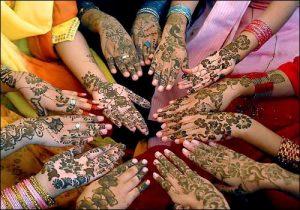 Henna o Mehndi en India
