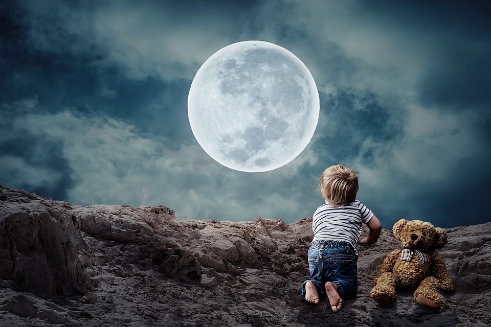Cuento árabe: Las lágrimas en la luna