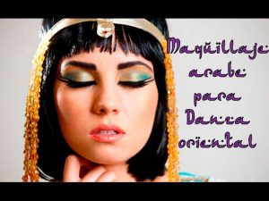 maquillaje árabe egipcio cleopatra danza del vientre diy