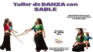 sable danza del vientre taller madrid