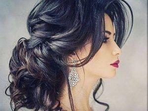 peinado árabe oriental