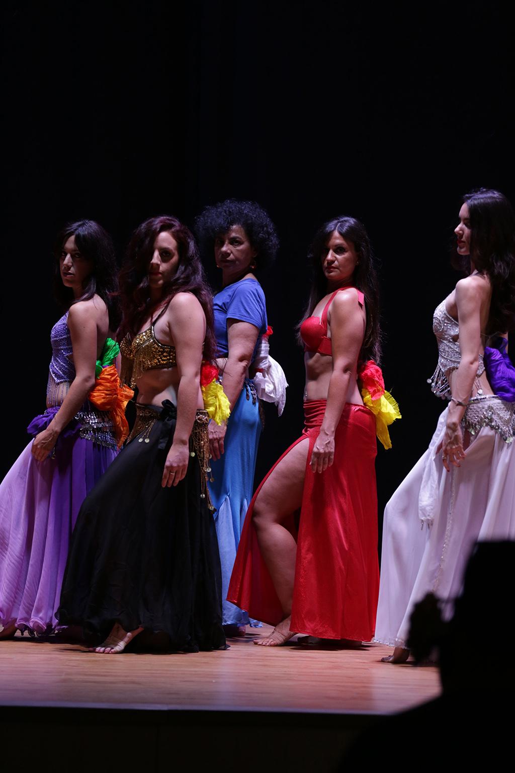 bailarina oriental madrid