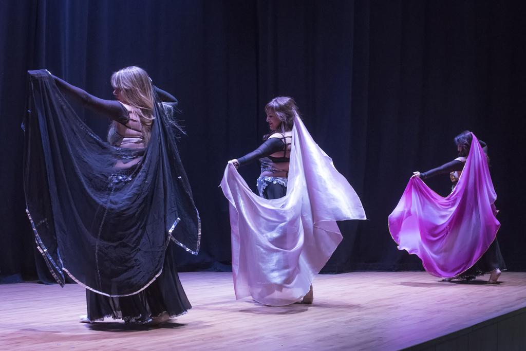 clases danza del vientre velo madrid 2