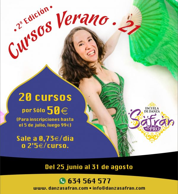 SafranPro 2021 danza online danza del vientre bollywood stretching orient fitness hipopresivos suelo pélvico