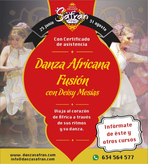 danza africana fusión madrid online