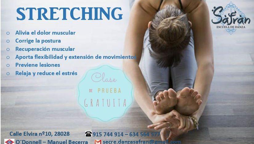 Stretching especial Suelo Pélvico