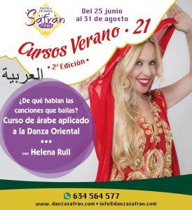 SafranPro 2021 danza online árabe